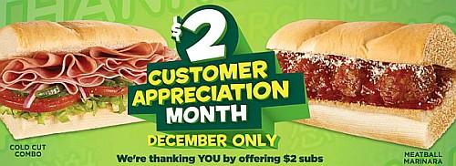 subway $2 delivery Lincoln Ne