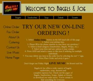 Bagels & Joe Delivery Lincoln Ne