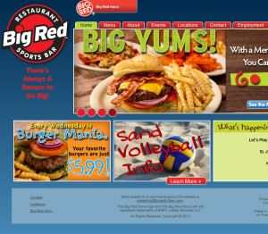 Big Red Restaurant & Sports Bar 		 Delivery Lincoln Ne