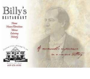 Billys Restaurant Delivery Lincoln Ne