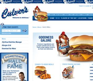 Culvers Restaurant Delivery Lincoln Ne