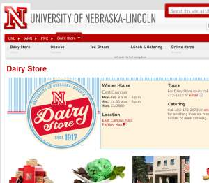 UNL Dairy Store Delivery Lincoln Ne