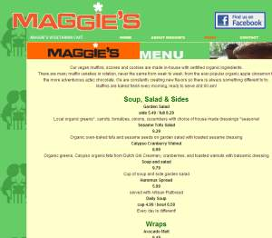 Maggie's Vegetarian Delivery Lincoln Ne