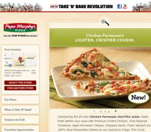 Papa Murphy's Take 'N' Bake Pizza Delivery Lincoln Ne