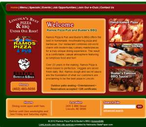 Ramos Pizza & Busters BBQ Delivery Lincoln Ne