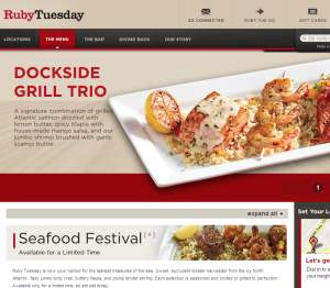Ruby Tuesday Delivery Lincoln Ne