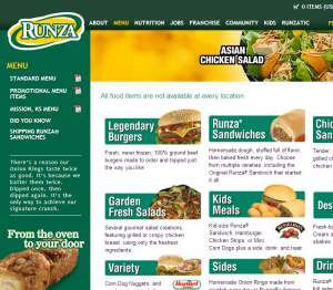 Runza Delivery Lincoln Ne
