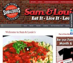 Sam & Louie's New York Pizza Delivery Lincoln Ne