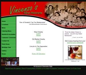 Vincenzo's Italian Ristorante Delivery Lincoln Ne